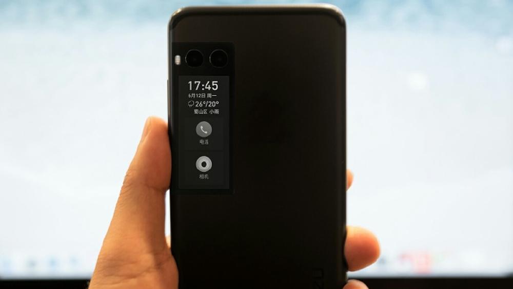 Meizus nye mobil har en ekstra skjerm på baksiden – skal snart avdukes