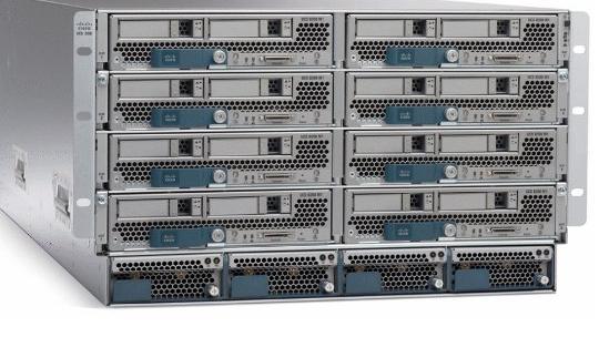 Servere, SAN og switcher fra Cisco