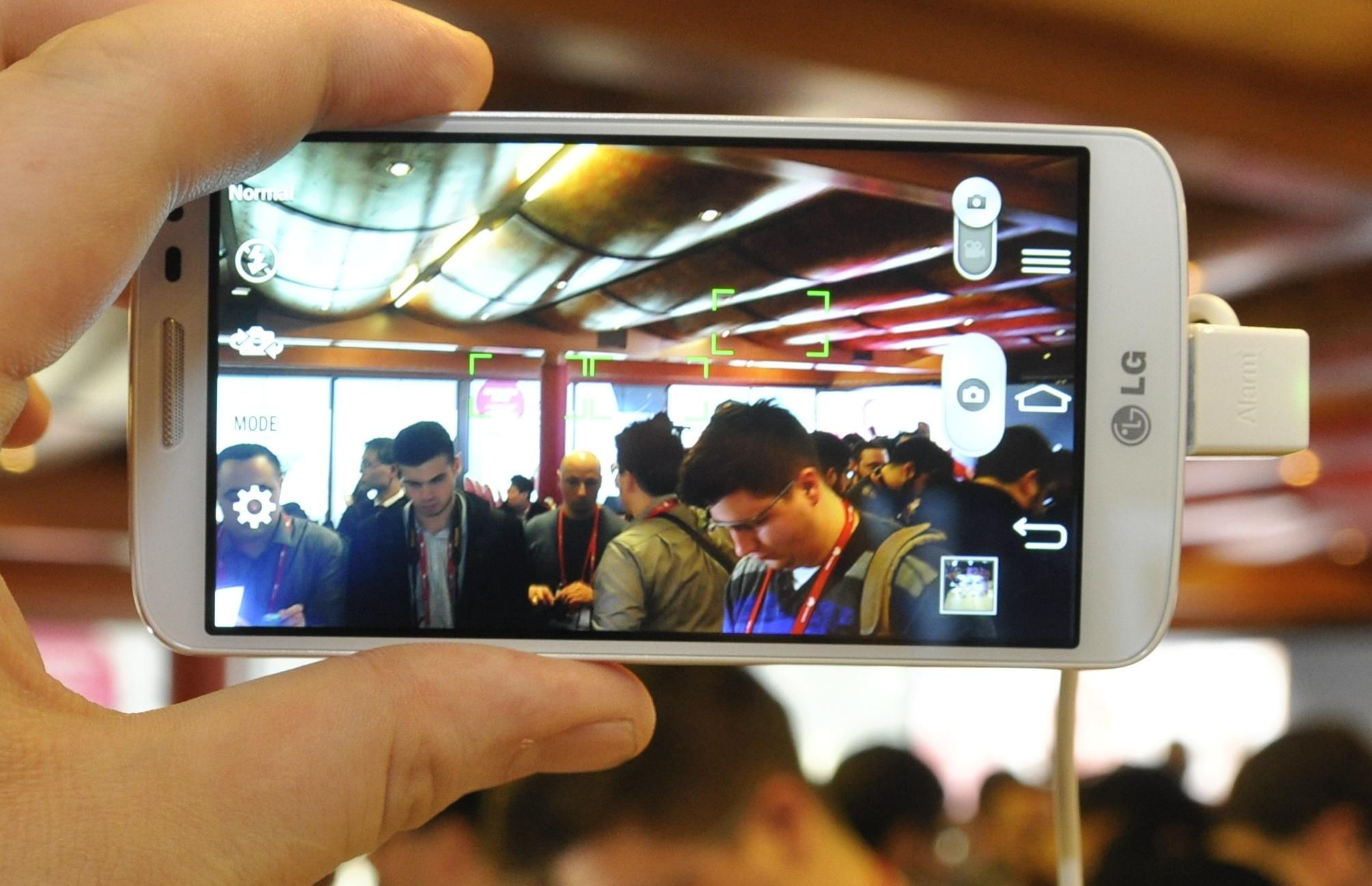 G2 Mini har et langt enklere kamera enn du finner i G2, eller G Pro 2.Foto: Finn Jarle Kvalheim, Amobil.no