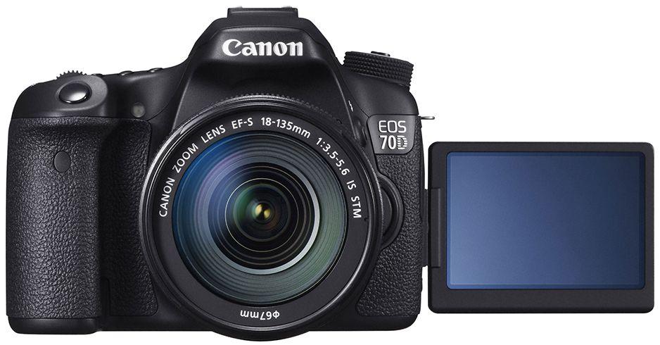 Canon EOS 70D. Foto: Canon.