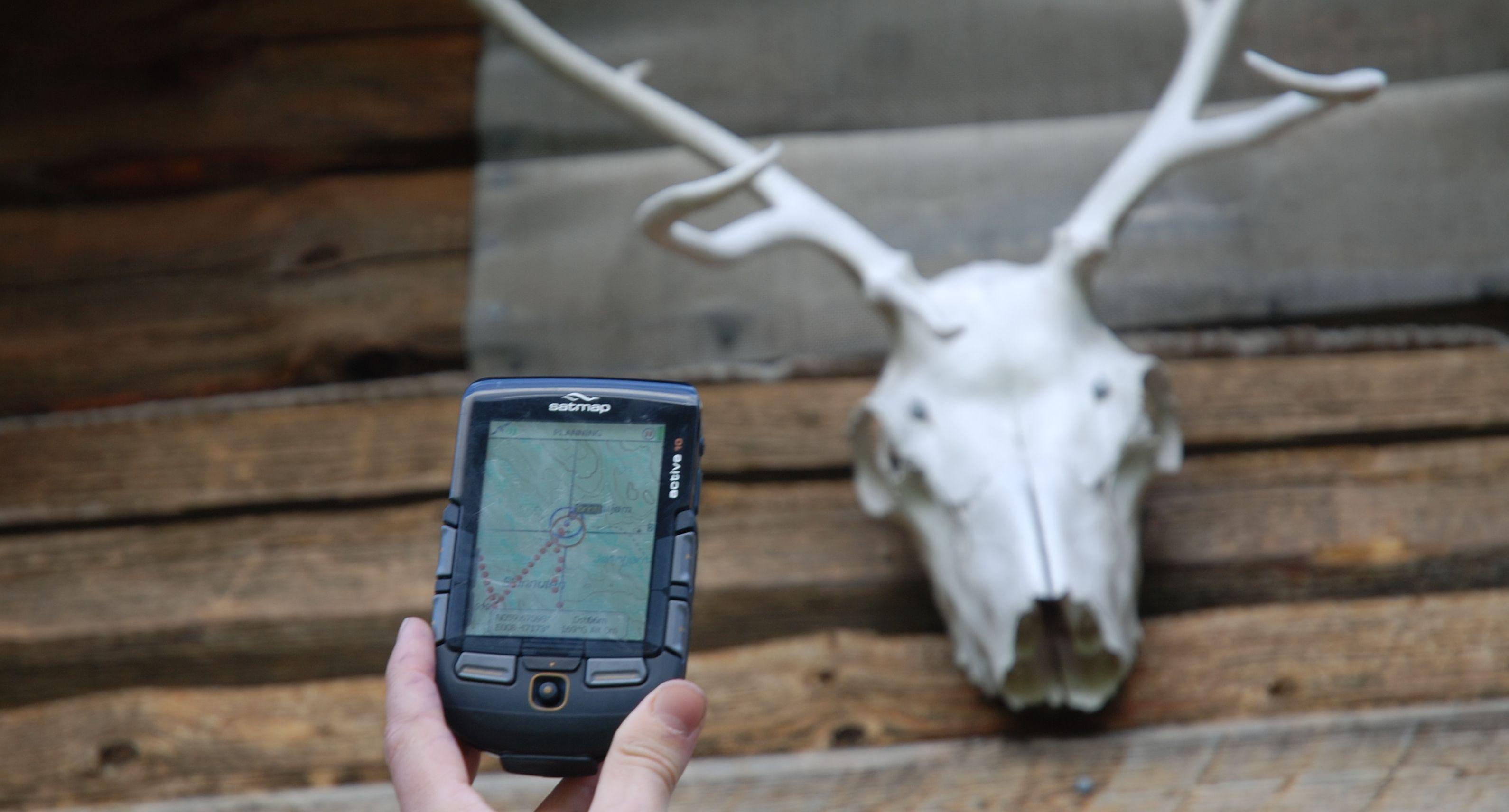 Satmap Active 10 er testens største GPS.