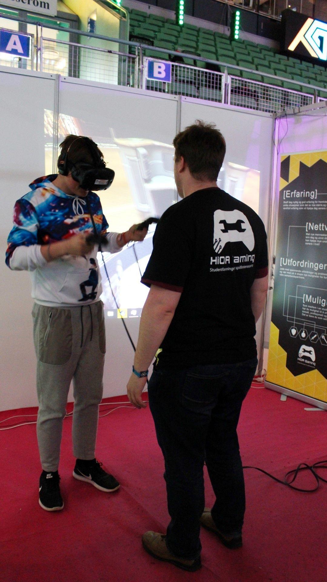 Det hadde nesten vært merkelig om det ikke var VR-demo pa TG.