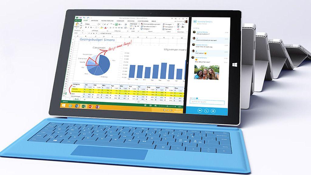 Microsoft opplever kraftig økning i Surface-salget
