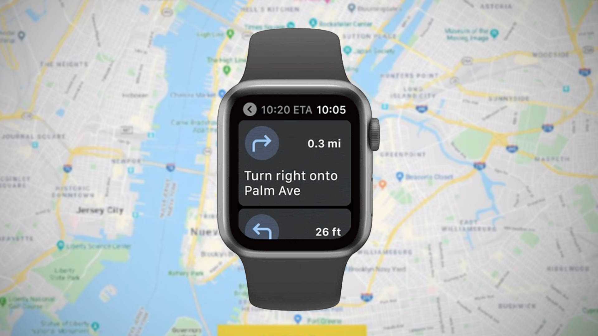 Google Maps kommer tilbake til Apple Watch