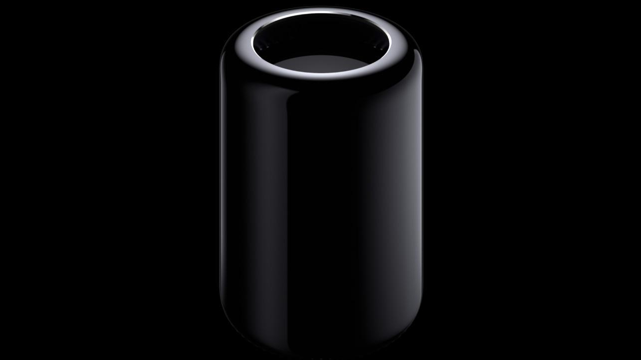 Nye Mac Pro har et helt annet design enn vi har sett i tidligere modeller.Foto: Apple