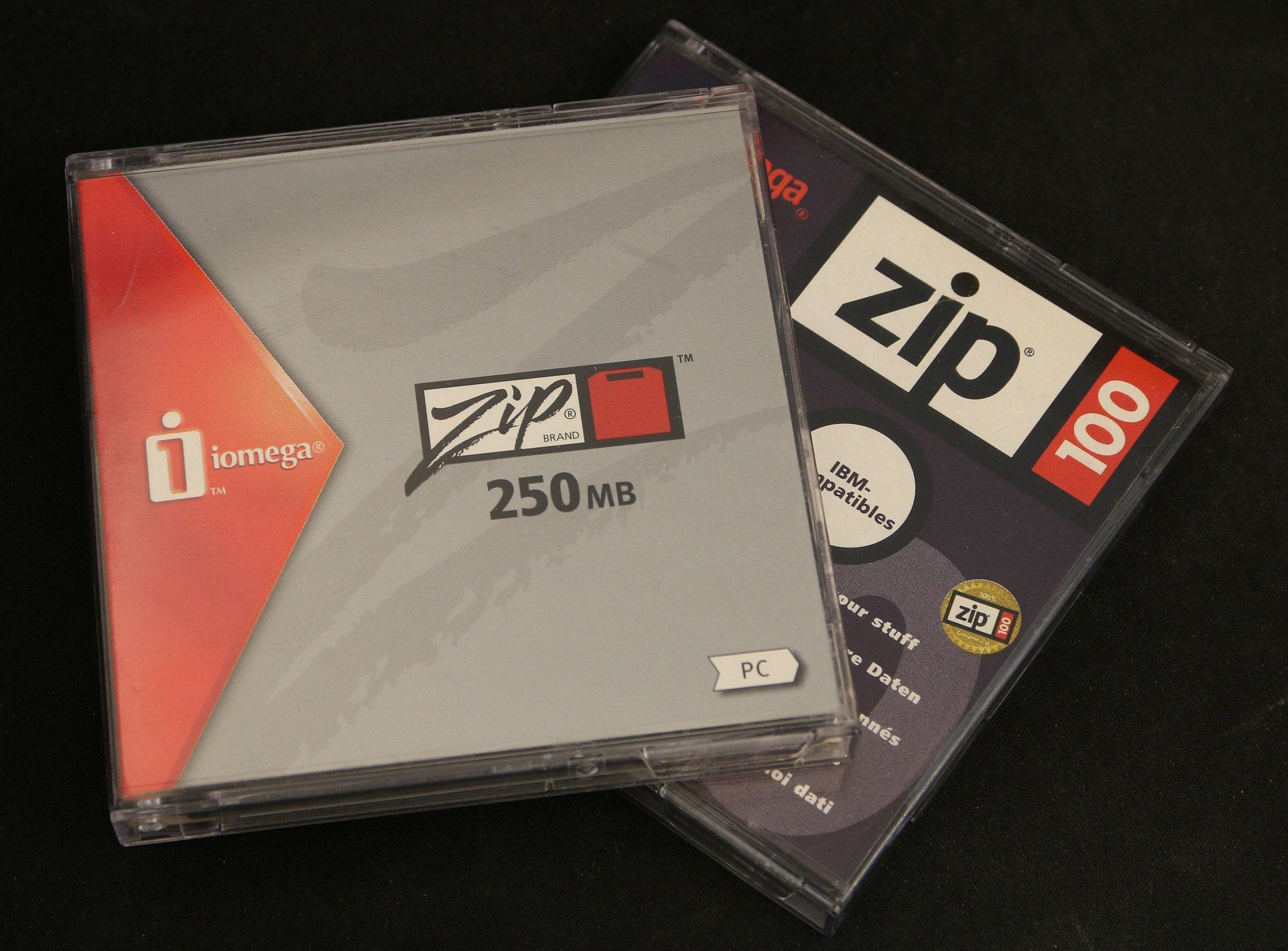 Zip-logoen ble også oppdatert etter hvert.Foto: Vegar Jansen, Hardware.no