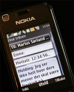 SMS har blitt umåtelig populært.