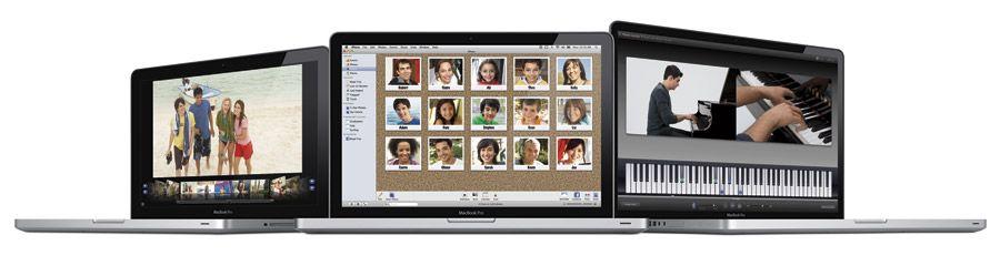 Macbook Pro-familien oppdatert