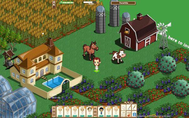 Farmville har blitt en suksess på Facebook, men ikke like mange bryr seg om onlinespillet på Google+.