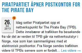 Faksimile, Piratpartiet.no.