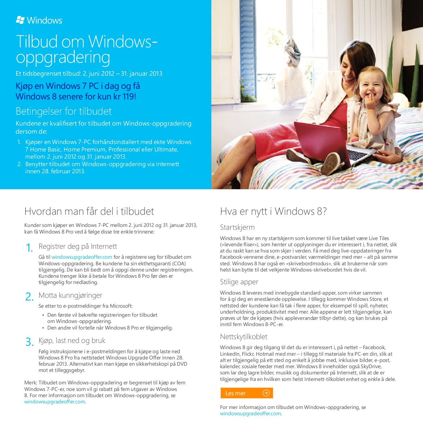 Her er skrivet Microsoft har sendt ut til norske forhandlere.Foto: Microsoft