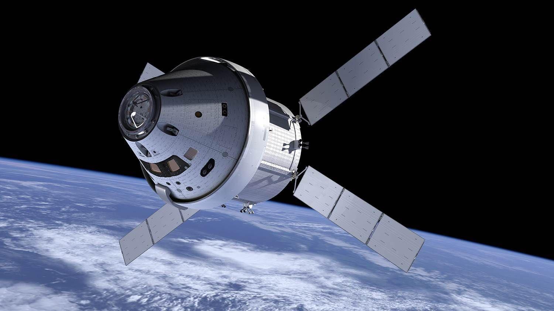 Orion-romskipet. Foto: NASA
