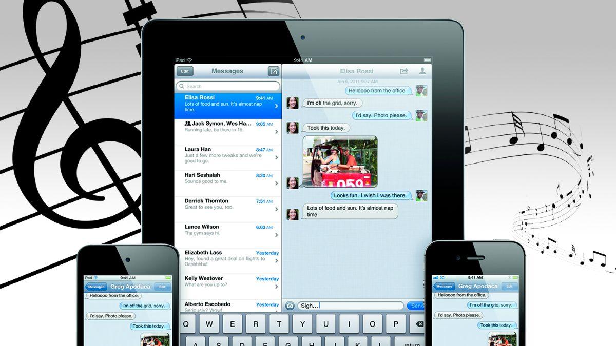 Slik lager du egne meldingslyder for iOS 5