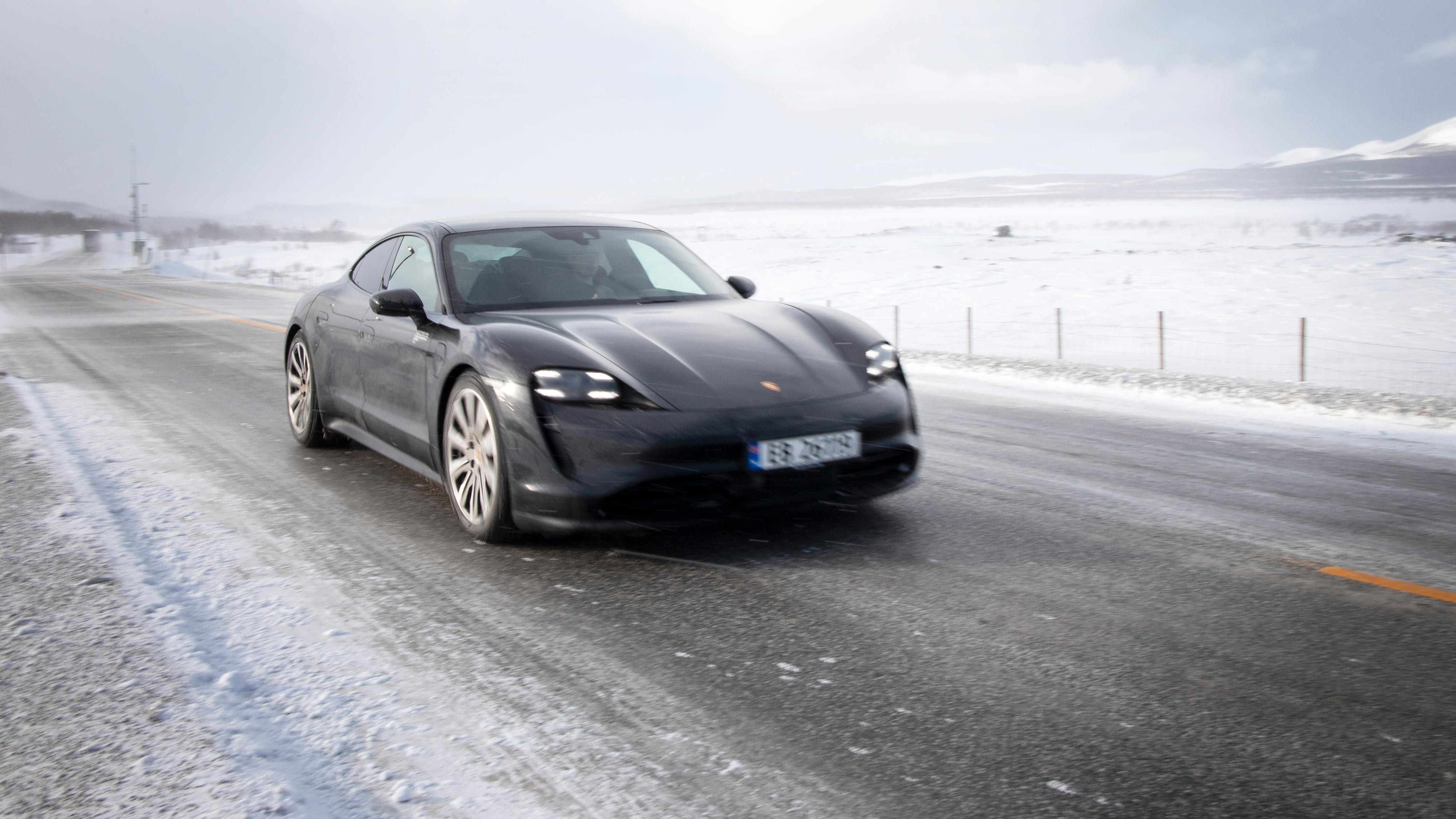 Vi kjørte Porsche Taycan fra Oslo til Trondheim. Slik var rekkevidden