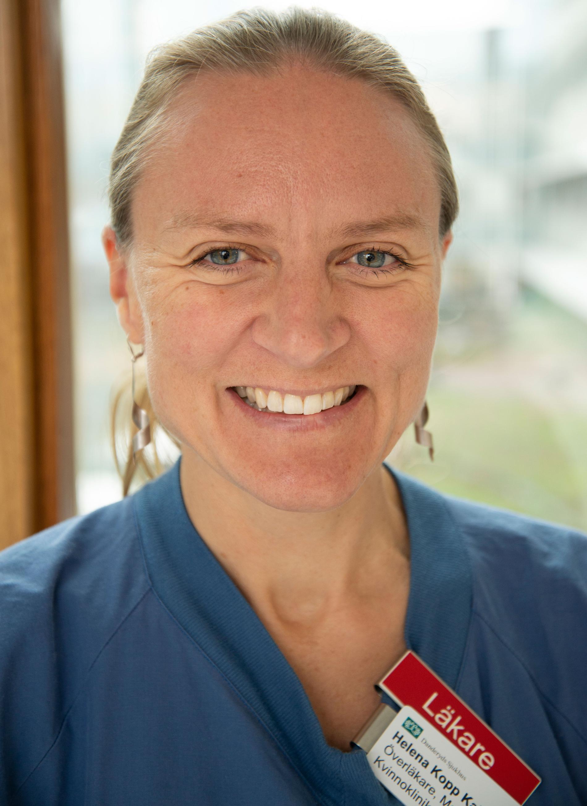 Helena Kopp Kallner är överläkare och docent vid  Danderyds Sjukhus.