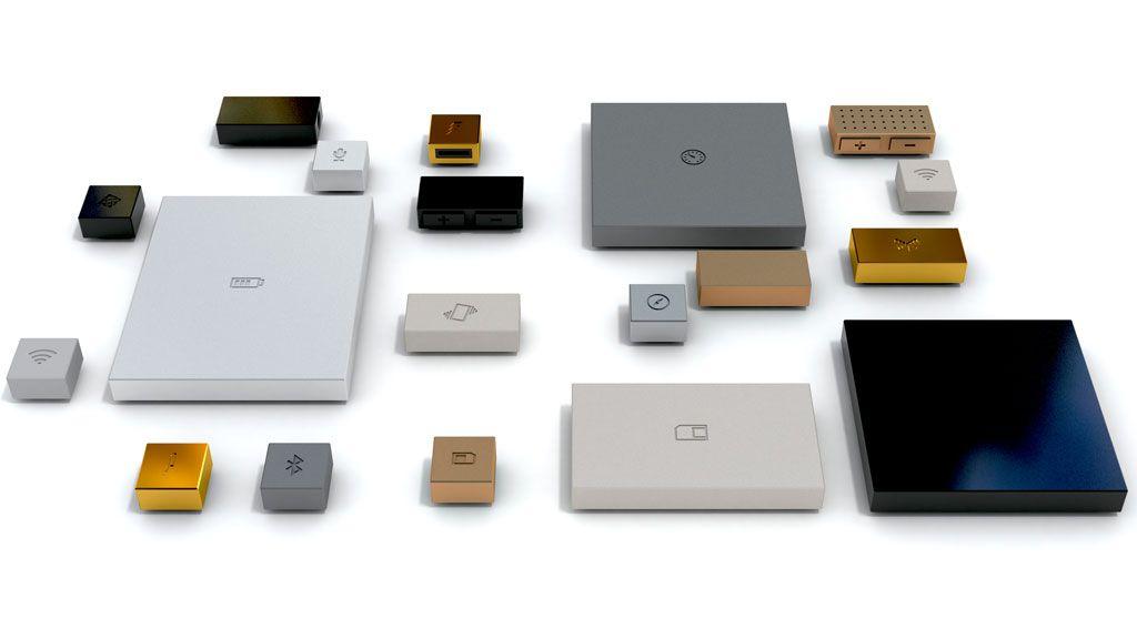 Phonebloks-components.Foto: Phonebloks