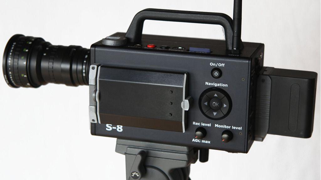 Dette er et helt nytt, men gammeldags filmkamera