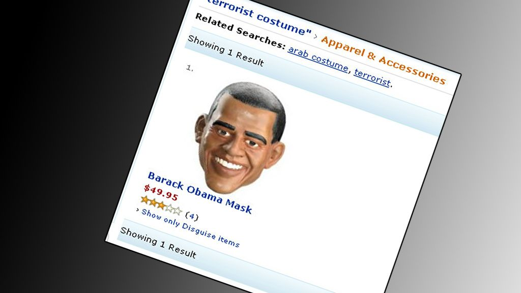 Terroristkostyme til Halloween?