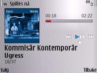 Slik ser MP3-spilleren ut.
