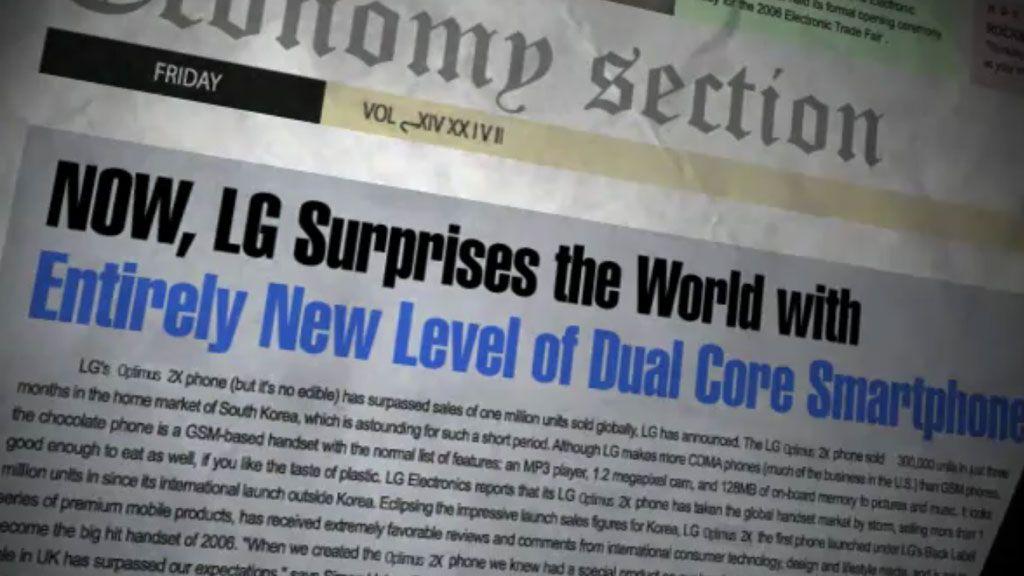 VIDEO: LG viser Optimus med 3D