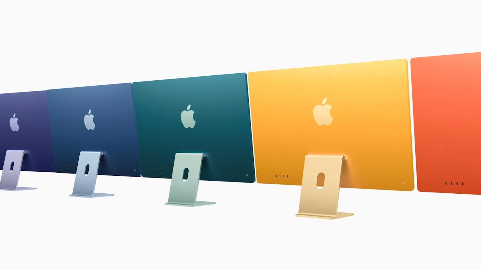 Bilder av innmaten fra de nye iMacene er blant det som har lekket på nett etter at REvil har begynt å legge ut data fra et angrep på en av Apples underleverandører.