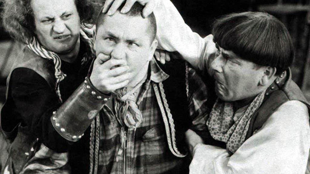 The Three Stooges vekkes til live