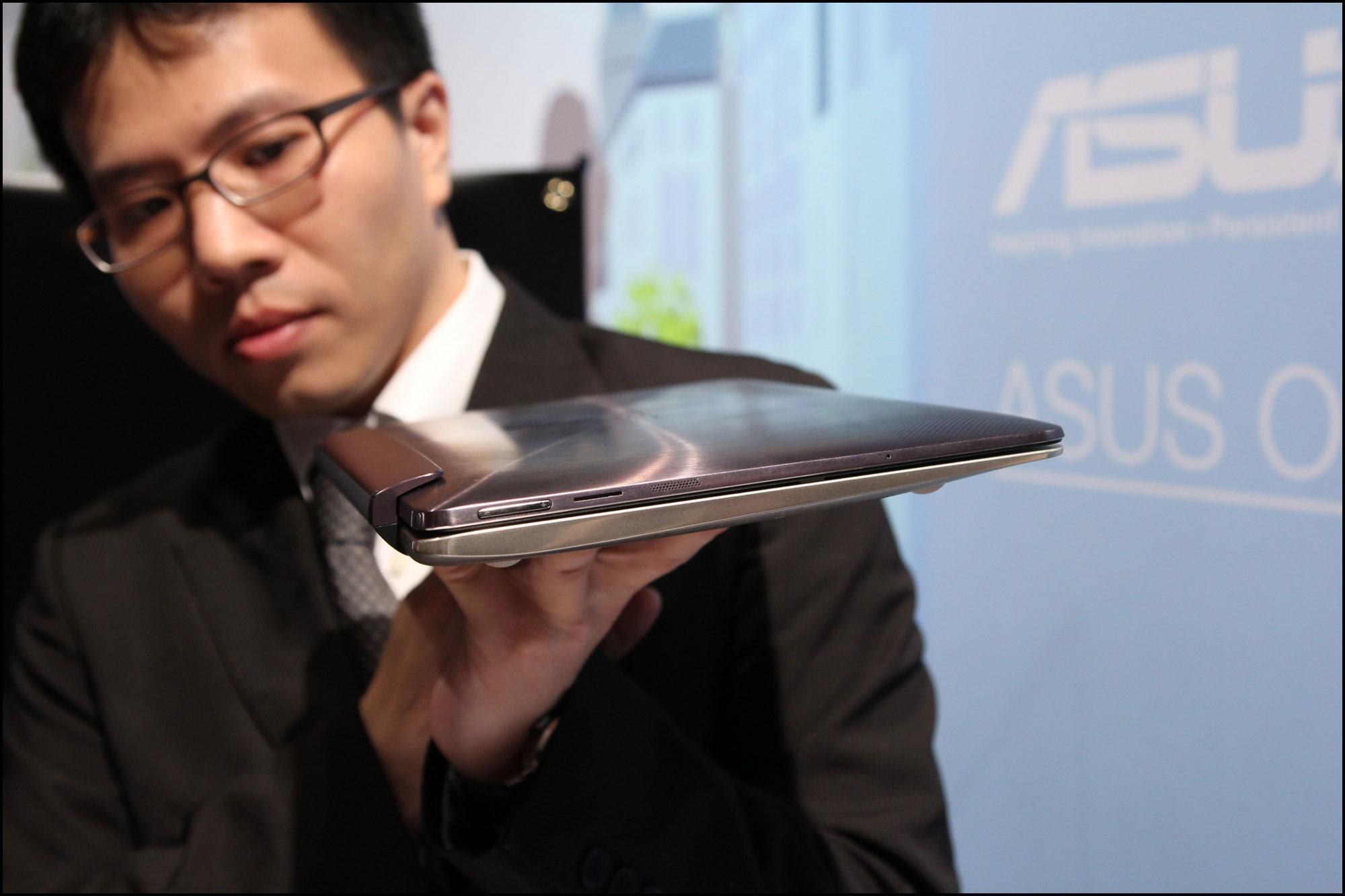 Asus Transformer Book.Foto: Vegar Jansen, Hardware.no