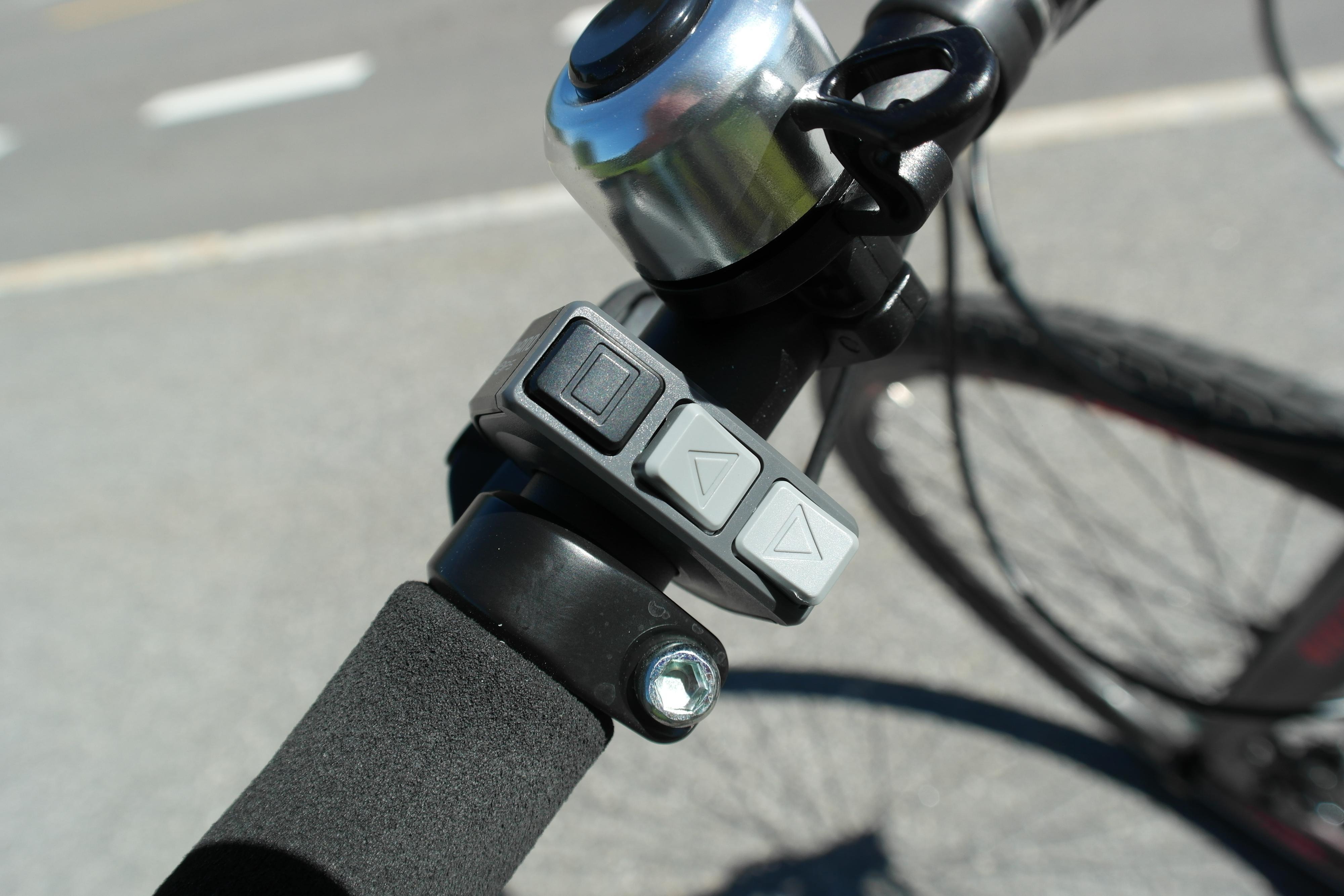 Enkel justering av motorassistanse gjorde SC-E Comp spesielt trafikksikker.