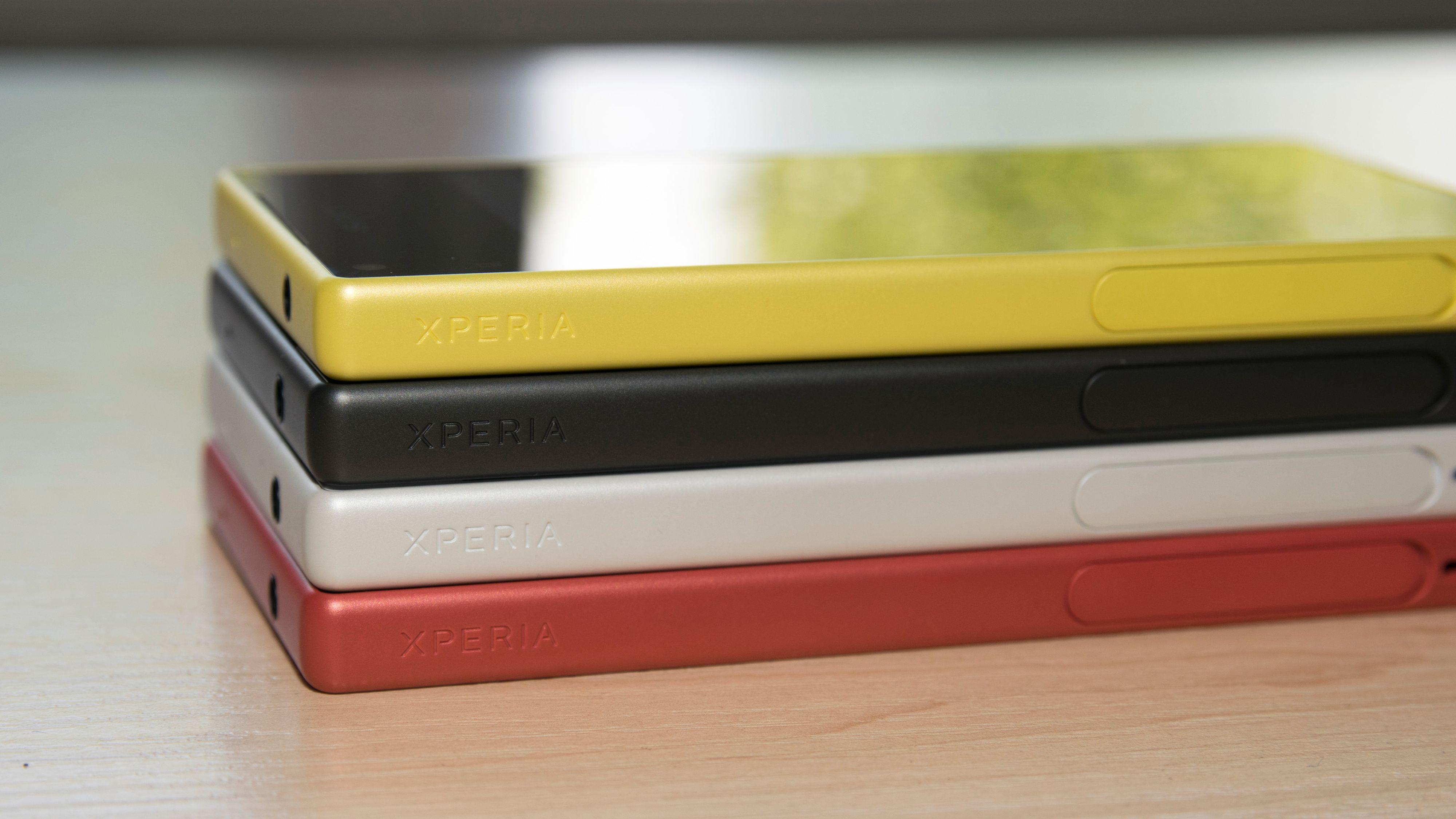 Sony Xperia Z5 og Xperia Z5 Compact