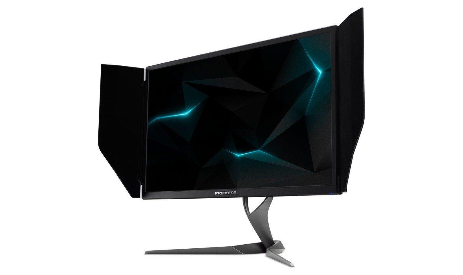 Acers Predator X27 bruker samme panel og skjerminnganger som Asus ROG PG27UQ og vil slite med samme problemer ved 144Hz.