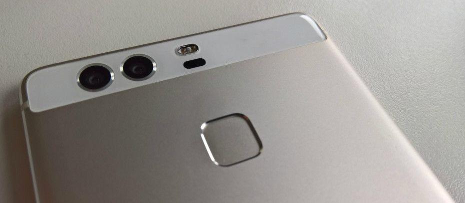 De to kameraene og fingeravtrykkssensoren er et blikkfang på P9.