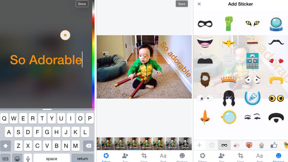 Snart kan du ha det mer moro med Facebook-bildene dine på mobil