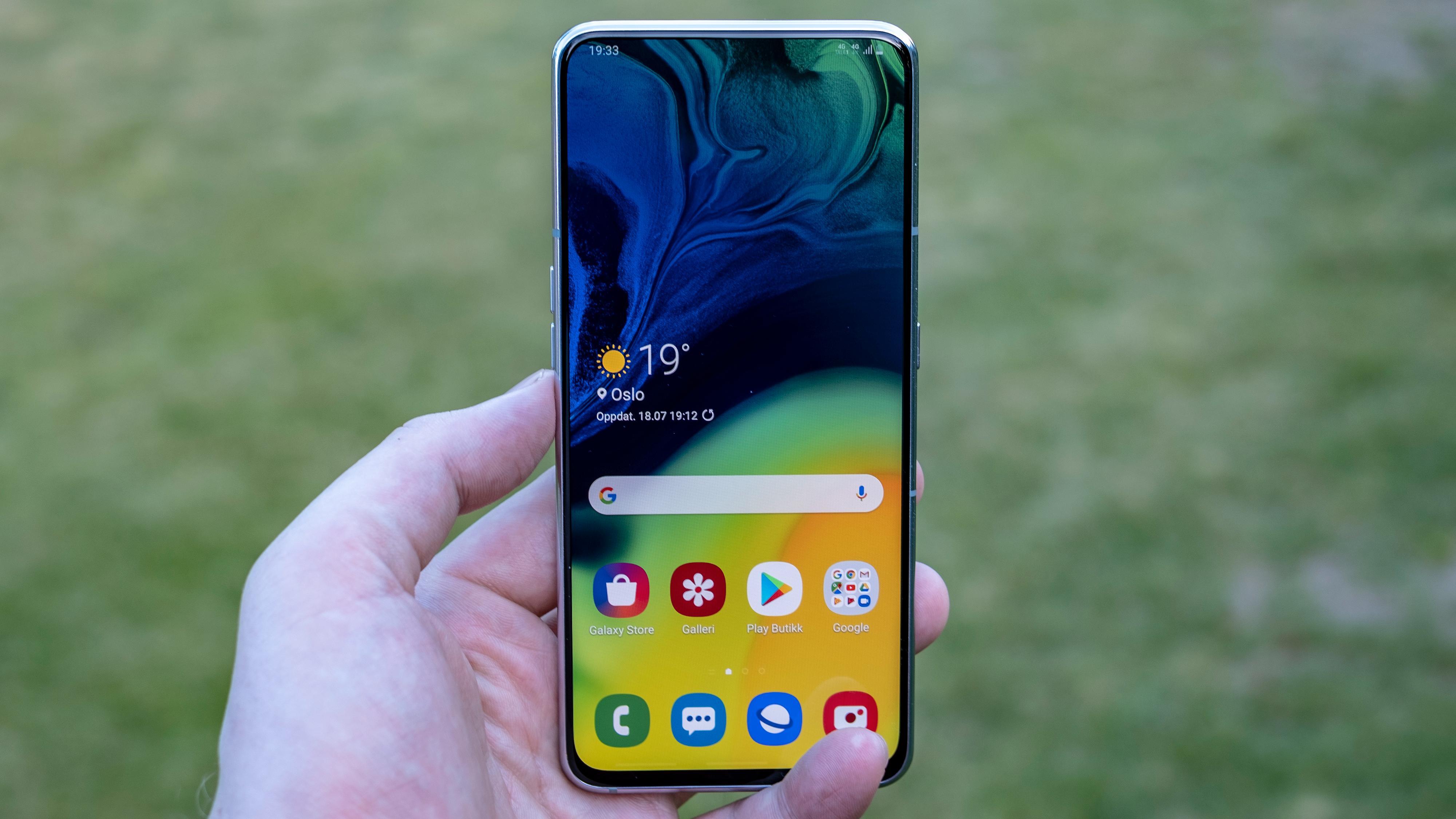 Skjermen er god, men du får billigere Samsung-mobiler med vesentlig bedre skjermer enn denne.