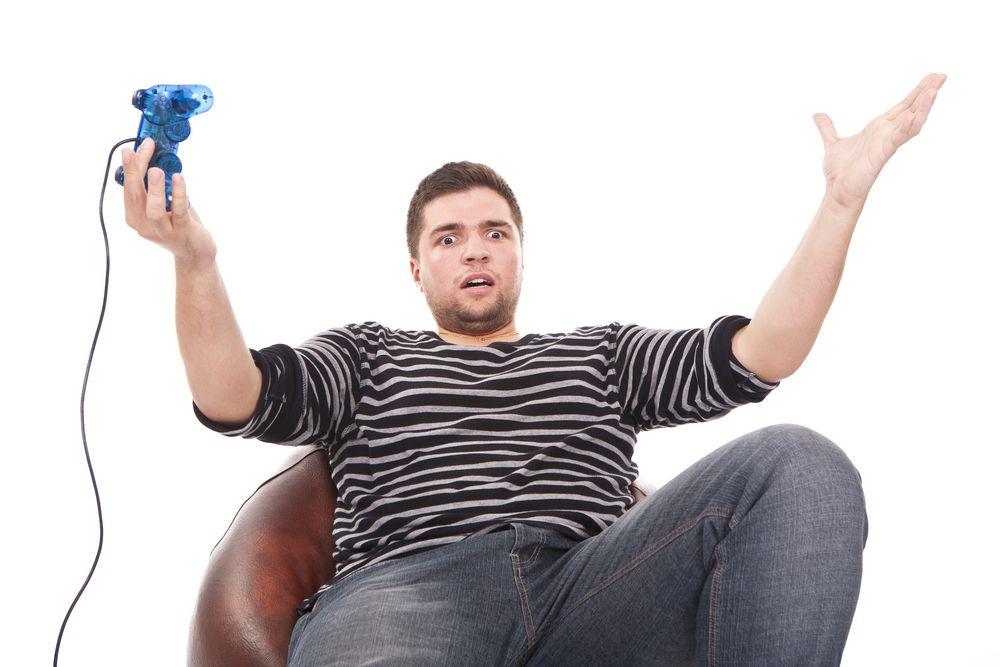 Menn som trakkaserer kvinner i spill, er generelt dprlige spillere. Foto: Shutterstock