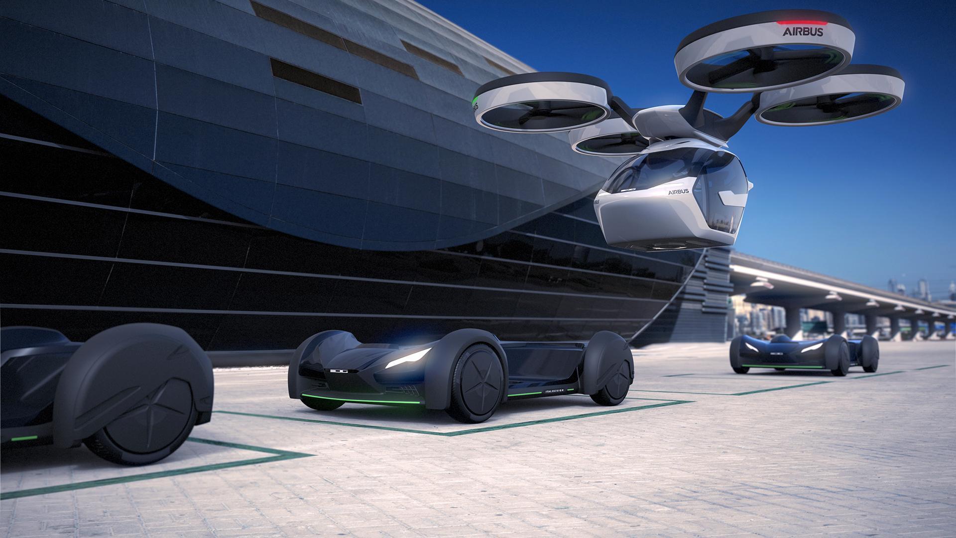 Slik vil Airbus at vi skal bevege oss rundt i byene i fremtiden