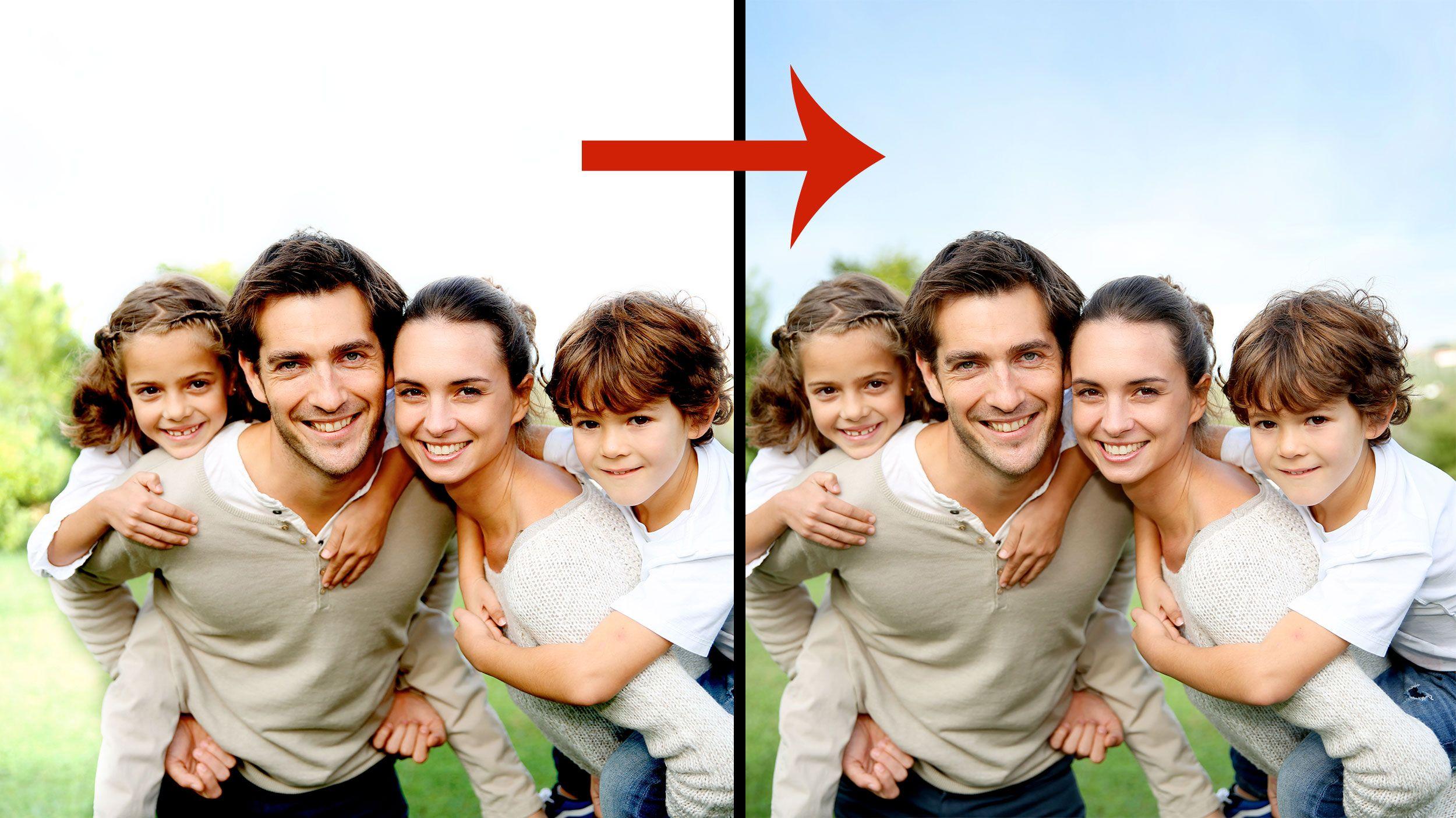 Hva om du kunne beholde den blå bakgrunnen?Foto: Shutterstock, Akam.no