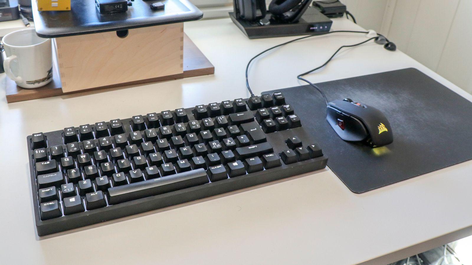 Lite ekstra dilldall, men en bokstavelig talt «killer combo» for FPS-spill, i all sin enkelthet, siden tastaturet uten numpad gir oss mye ekstra plass til peke rundt med geværet.