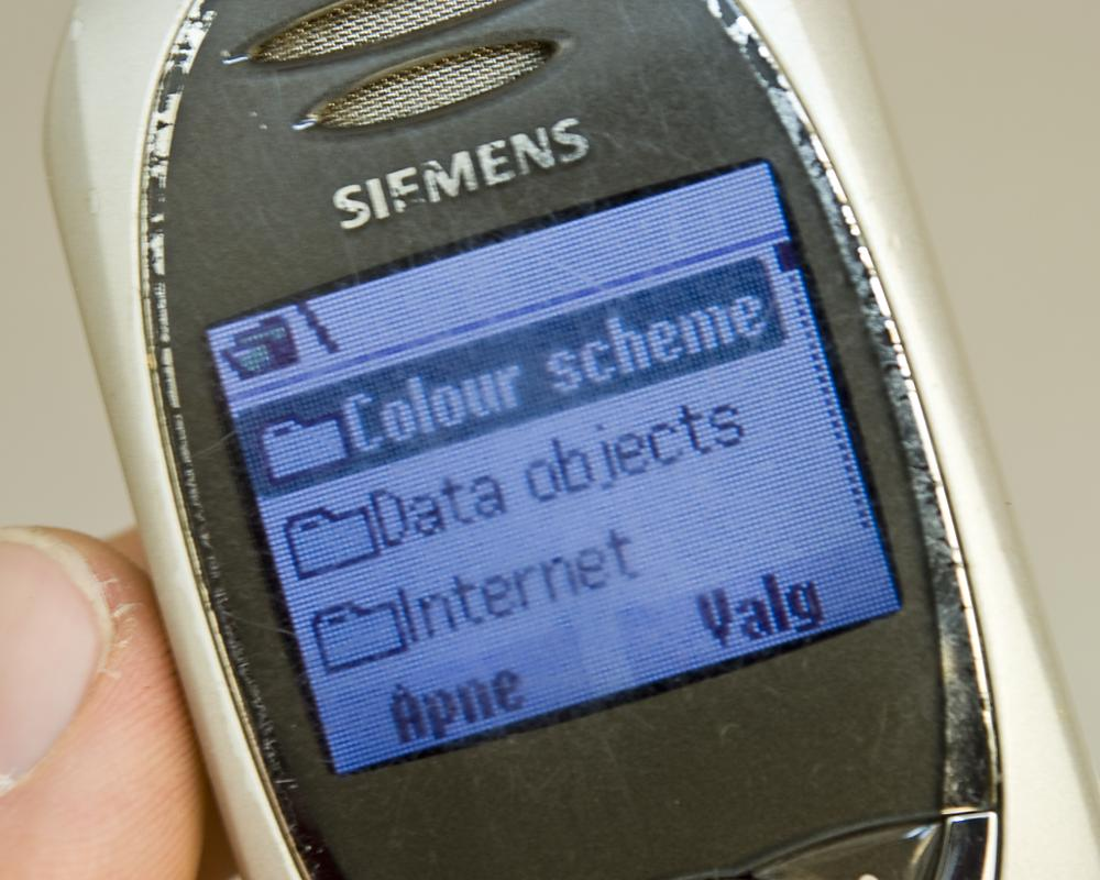 Siemens var en de første med filbehandler.