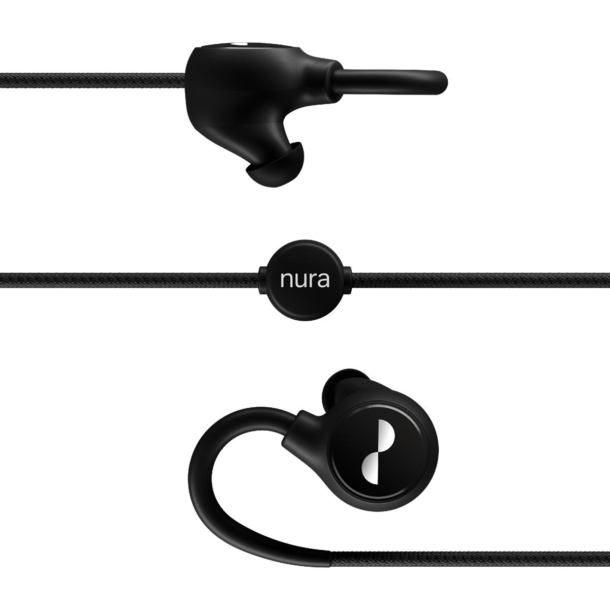 NuraLoop er tradisjonelle kanalplugger i utformingen.