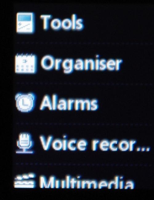 Telefonen har et vell av nyttige funksjoner.
