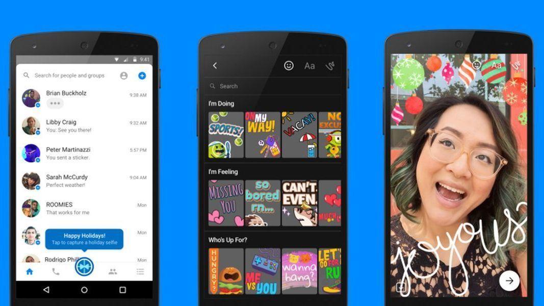 Messenger «låner» en rekke nye kamerafunksjonen fra Snapchat