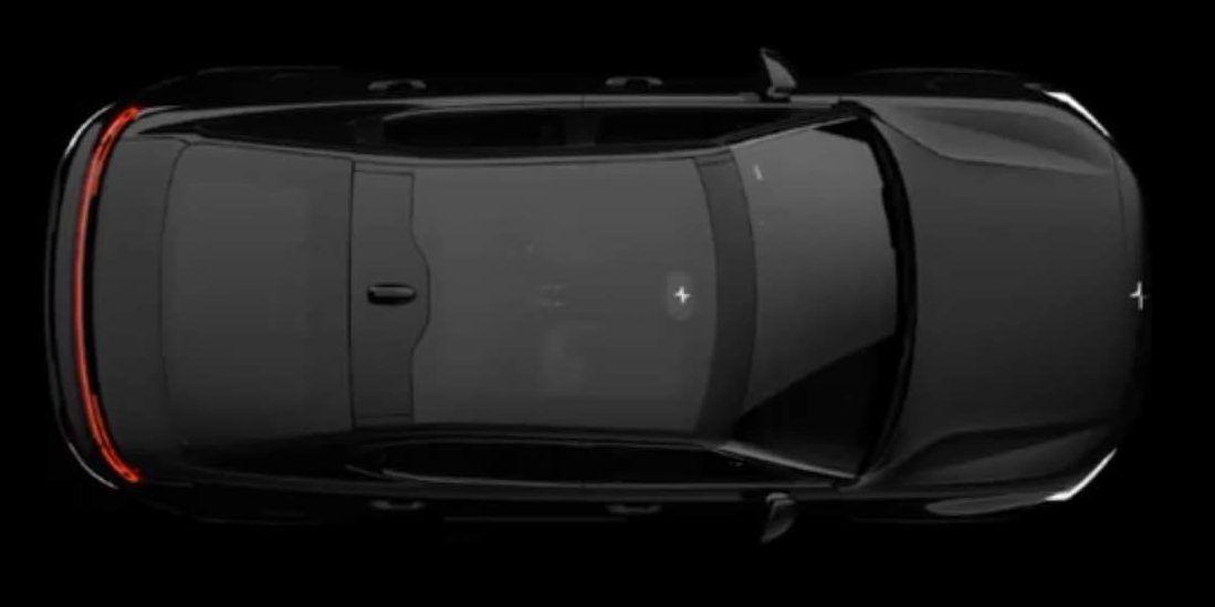 Volvo med nye bilder av sin kommende elbil