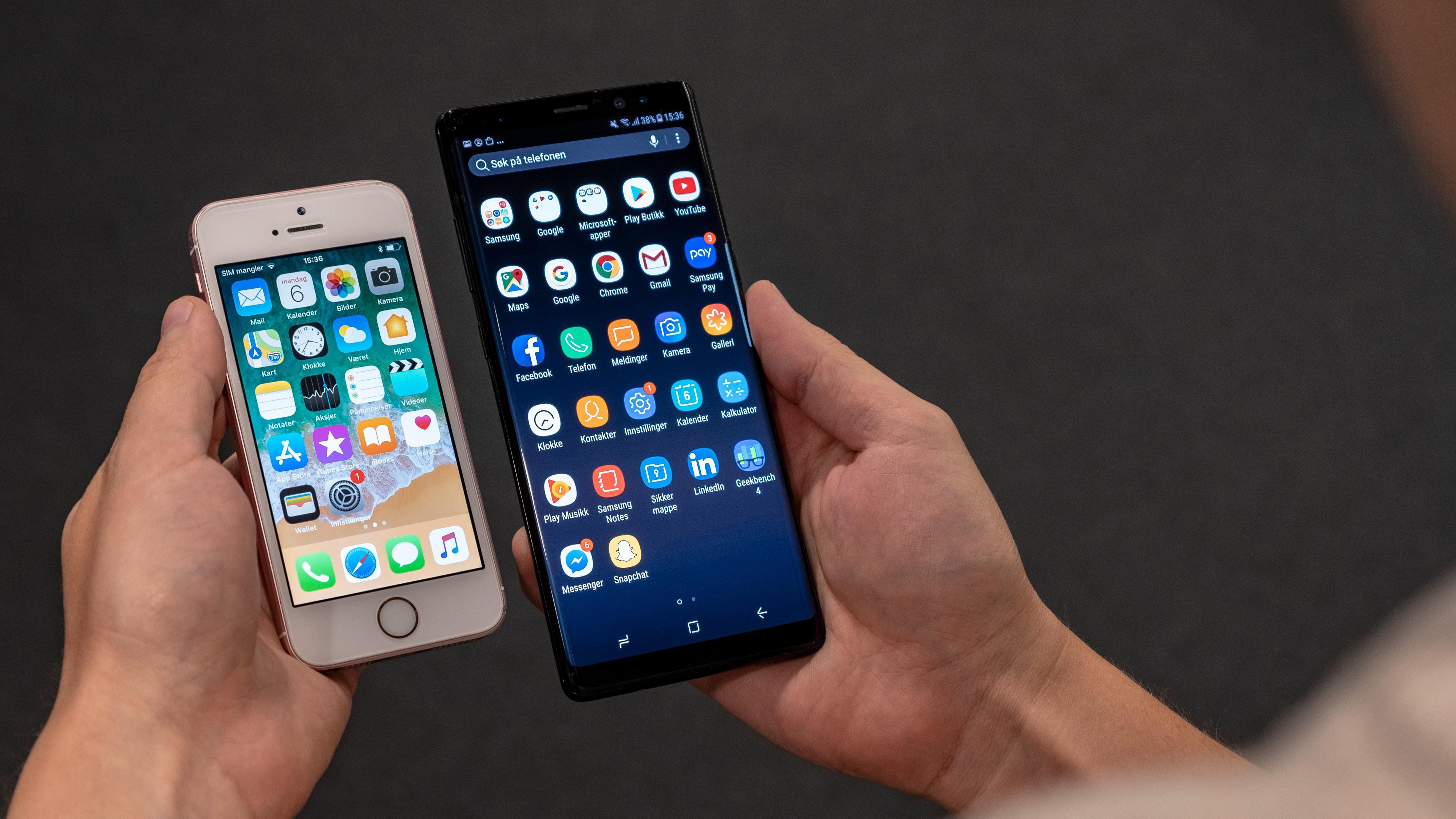 Trenger du telefon med stor skjerm?
