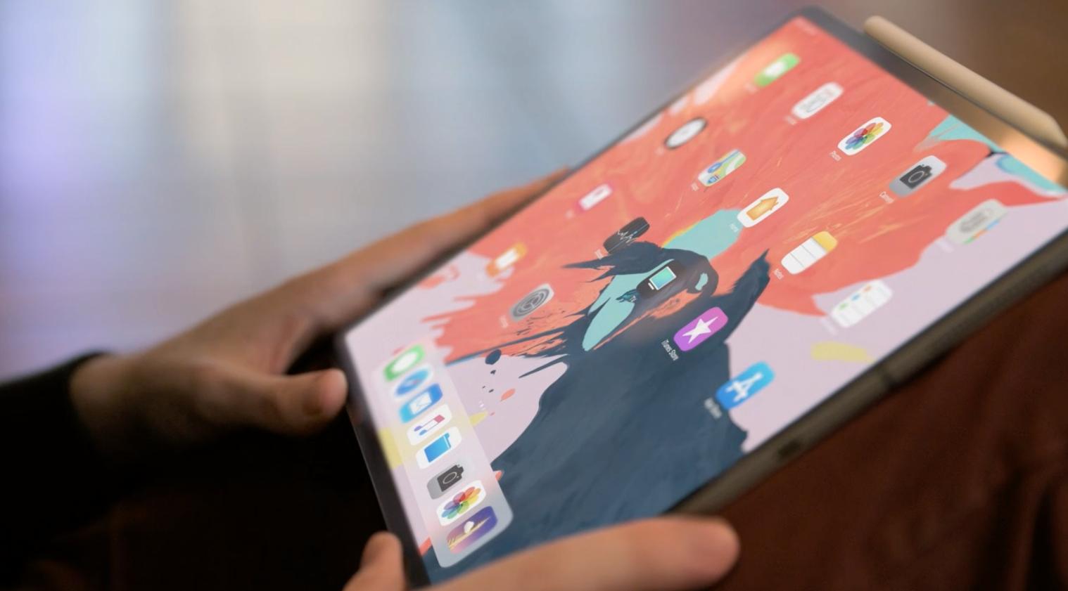 Dette er nye iPad Pro med tynne rammer og Face ID