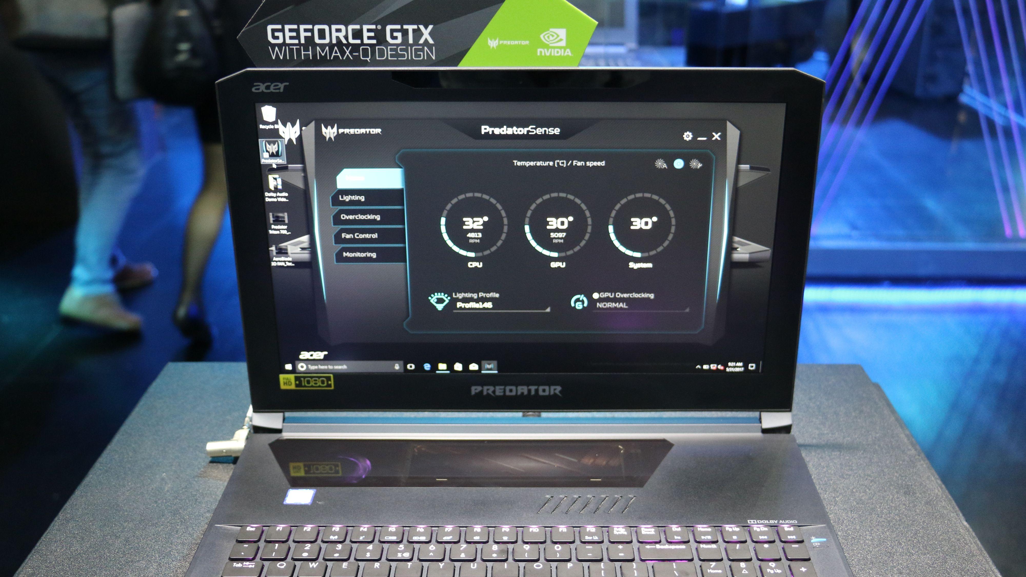 Lær deg dette navnet: Max-Q. Det er den nye generasjon av ultraportable spillmaskiner