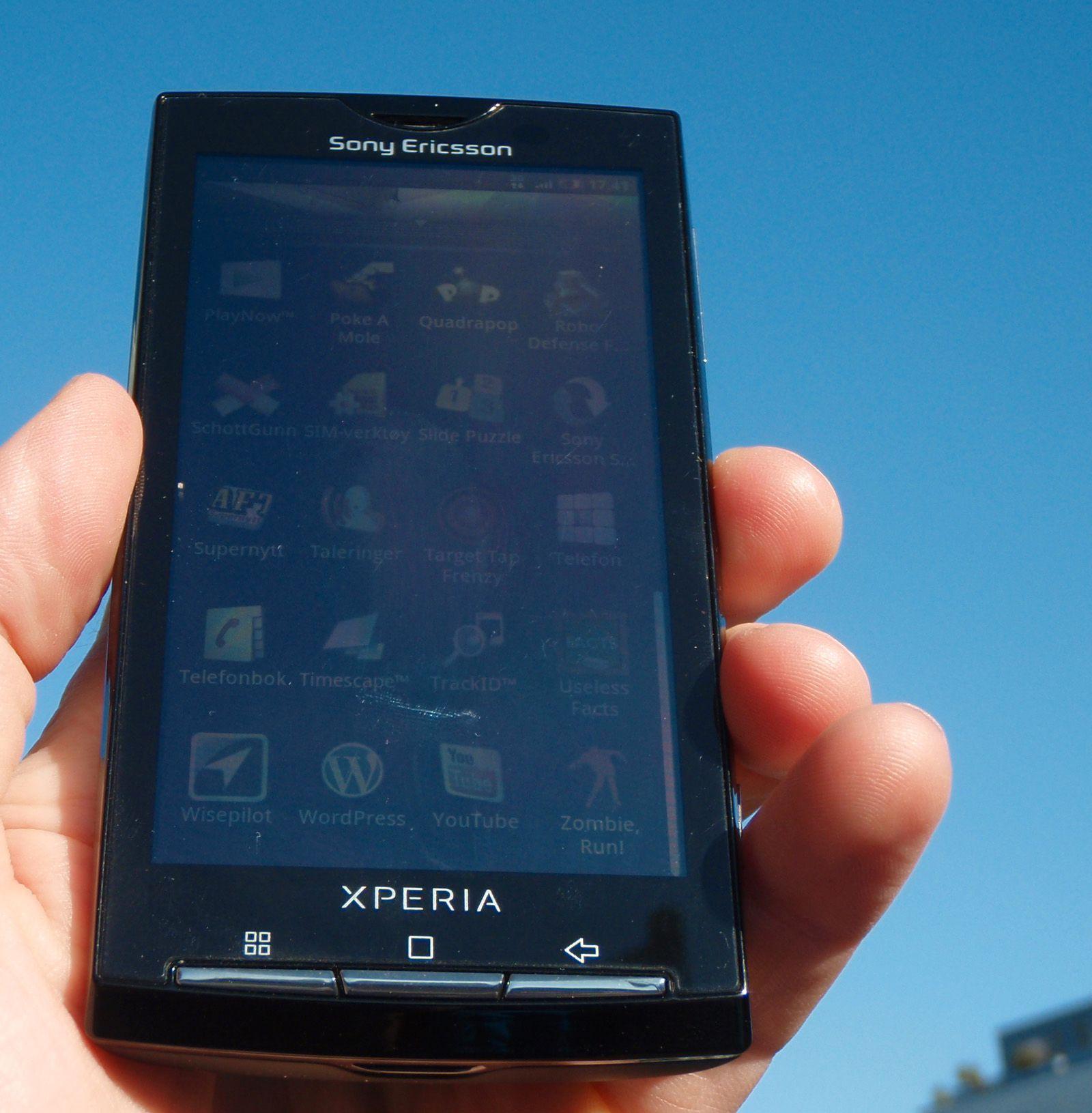 Xperia X10 får mye av æren for at Sony Ericsson virker å være på rett kjøl igjen.