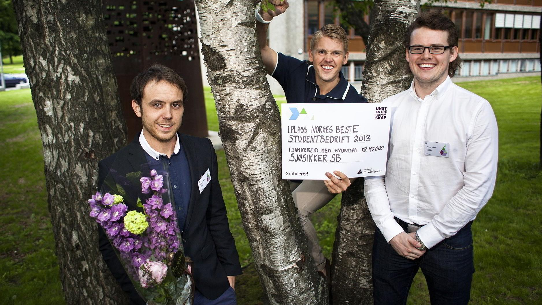 Disse gutta vant student-mesterskapet i Norge