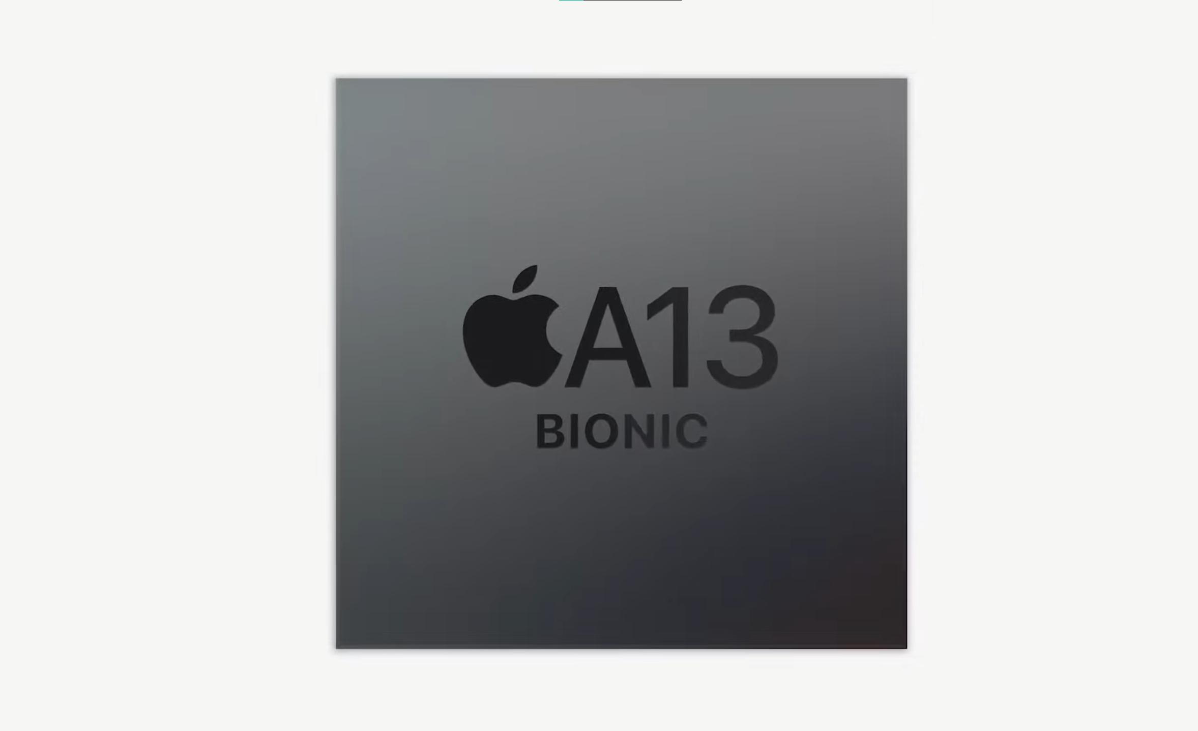 A13 Bionic er brikken vi finner på innsiden av iPad Mini og iPad. Den skal være betydelig raskere enn forrige generasjon.