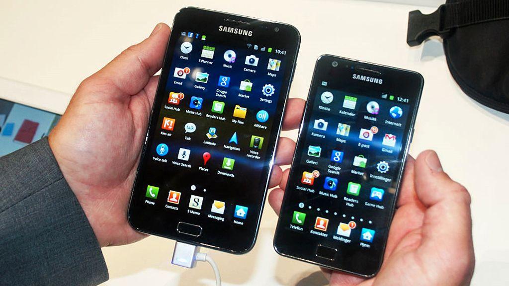 iPhone blir knust av Samsung og Google