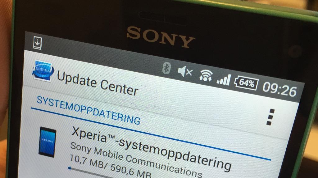 Nå får Sonys toppmodeller endelig Lollipop